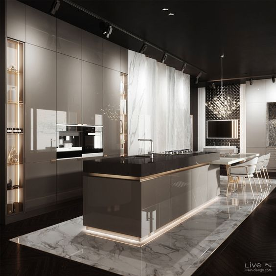 mẫu thiết kế nội thất bếp đẹp