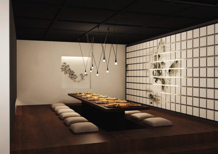 Mẫu thiết kế nội thất nhà hàng đẹp