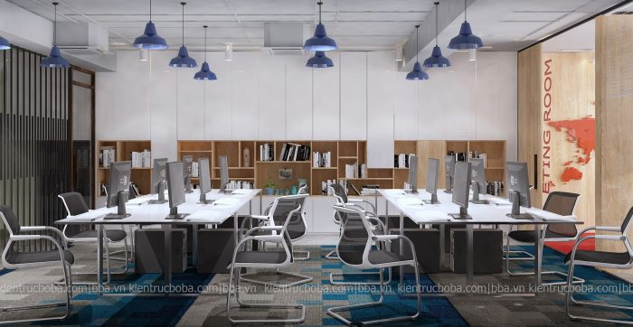 mẫu thiết kế nội thất văn phòng đẹp