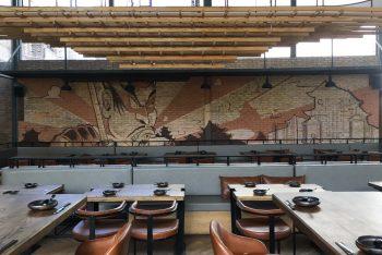 Dự án thi công nội thất nhà hàng hiện đại tại Phú Nhuận