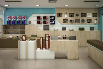 Thiết kế thi công nội thất shop chuyên nghiệp tại TP.HCM