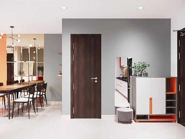 thiết kế nội thất căn hộ 2 phòng ngủ đẹp