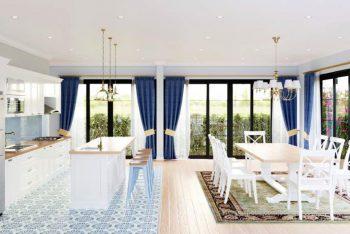 Dự án thiết kế nội thất khách sạn mini – Homestay Cần Giờ