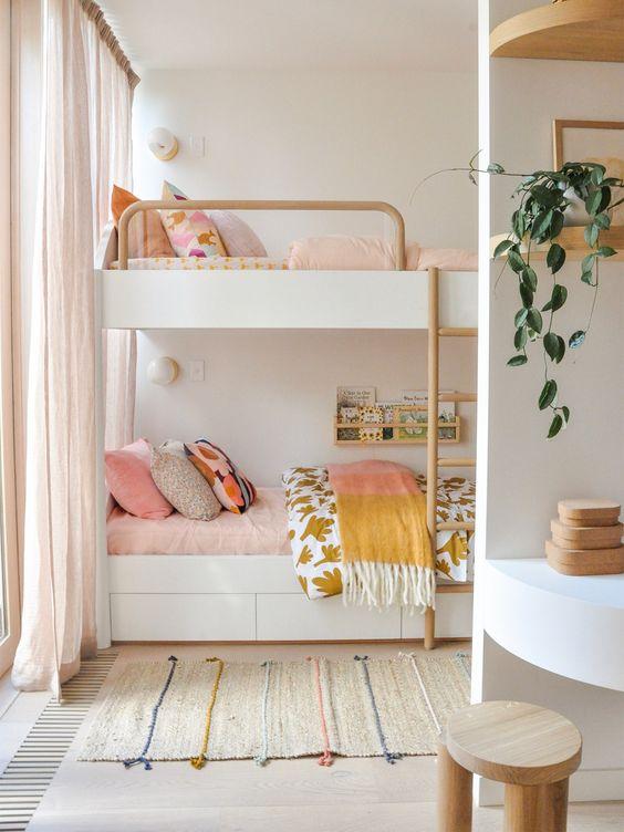 mẫu thiết kế phòng ngủ bé gái đẹp