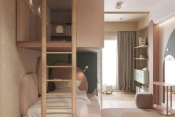 20+ Mẫu phòng ngủ bé gái đẹp 2021