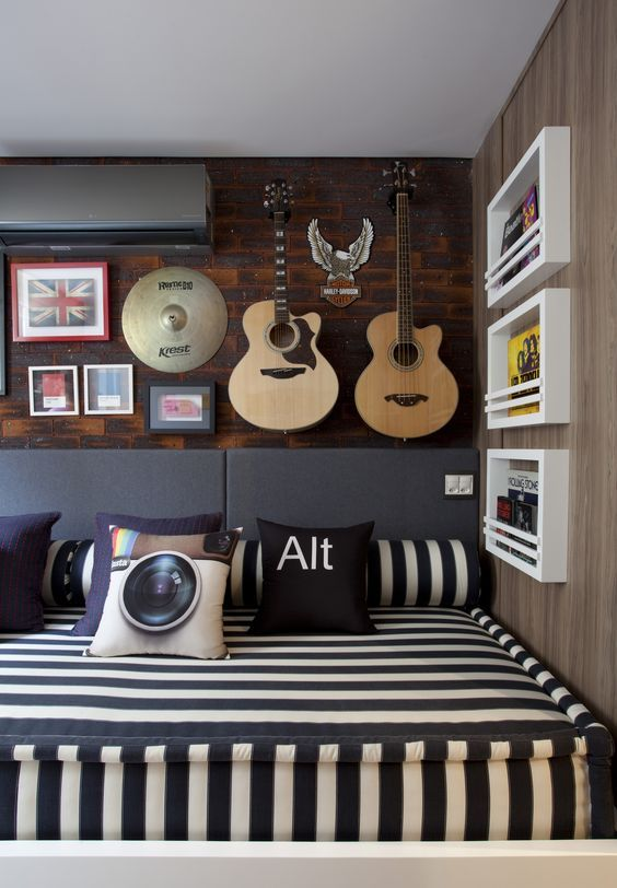 mẫu thiết kế phòng ngủ bé trai đẹp