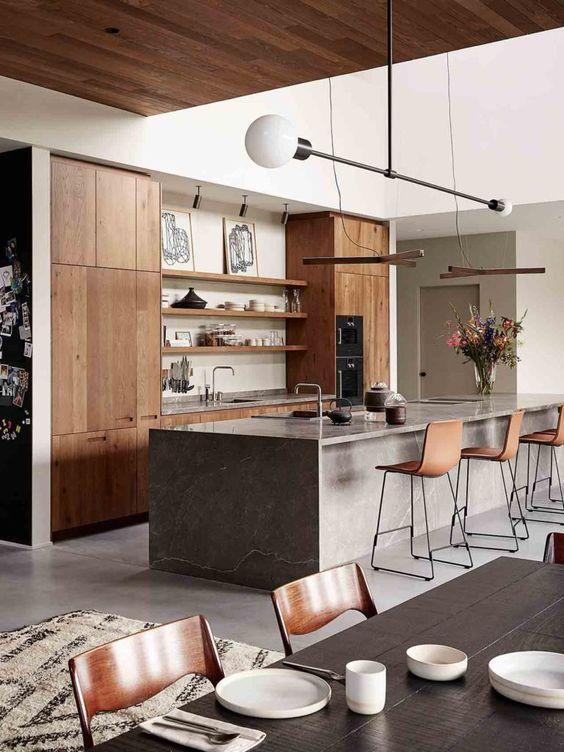 nội thất chung cư gỗ tự nhiên