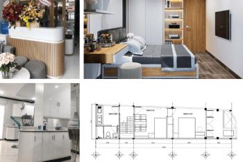 Thiết kế thi công nội thất nhà phố kết hợp làm phòng khám