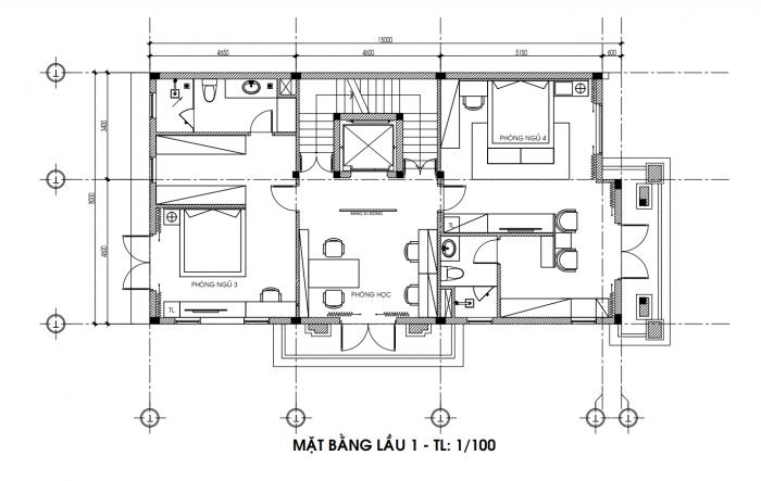 thiết kế nội thất biệt thự phố