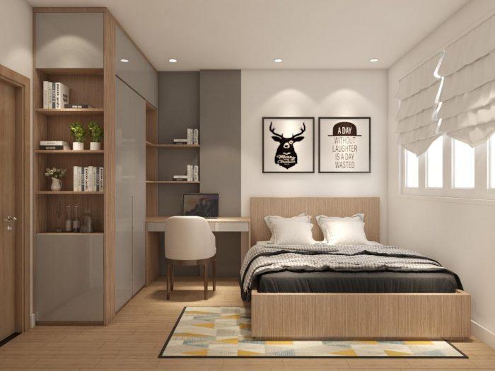 căn hộ 1 phòng ngủ +1