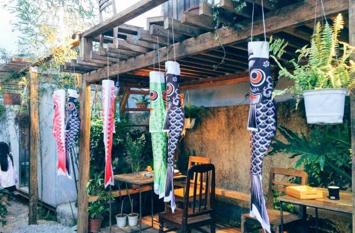 thiết kế nội thất quán cafe sân vườn