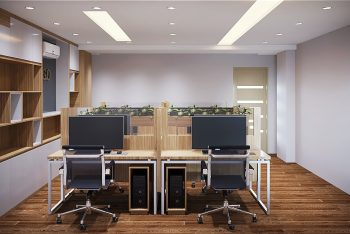 Mẫu thiết kế văn phòng 40m2 đẹp và tối ưu công năng tại Tân Bình