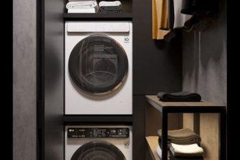 25+ Mẫu phòng giặt phơi đẹp tiện nghi