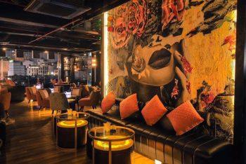 Dự án thiết kế thi công nội thất quán cafe bar phong cách công nghiệp