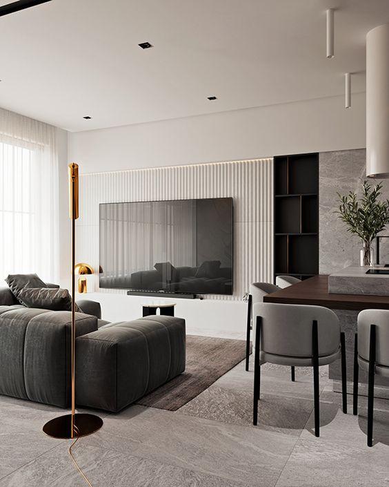 thiết kế nội thất nhà phố đẹp 2021