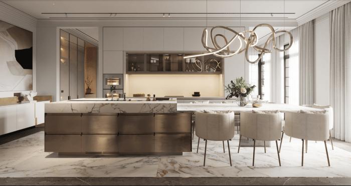 thi công nội thất căn hộ luxury