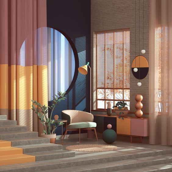 thiết kế nội thất căn hộ luxury đẹp