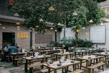 Khám phá mẫu thiết kế nhà hàng ngoài trời đẹp & lãng mạn