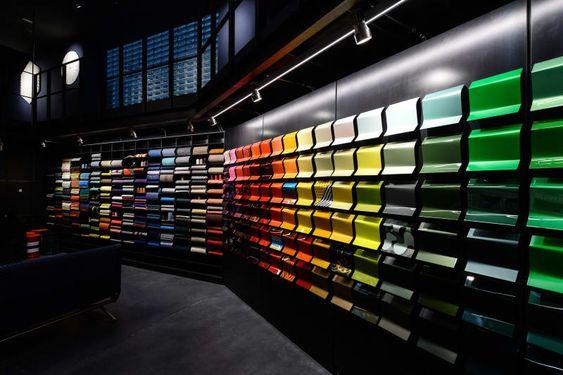 mẫu thiết kế showroom đẹp