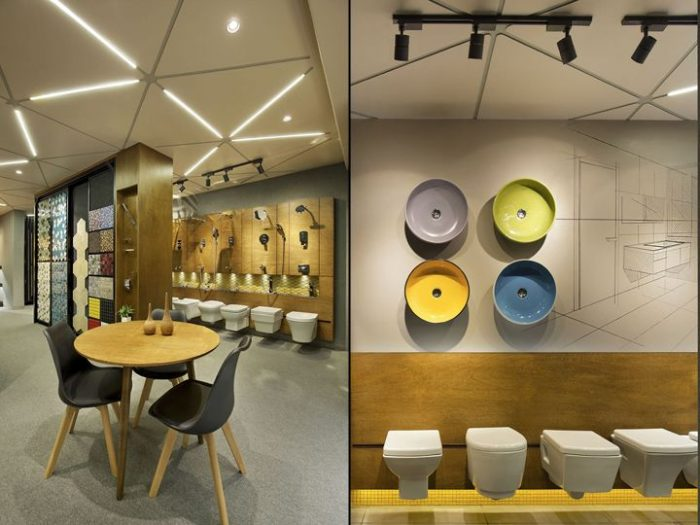 xu hướng thiết kế showroom đẹp