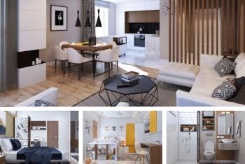 Hoàn thiện nội thất căn hộ 2 phòng ngủ 70m2 hiện đại đẳng cấp