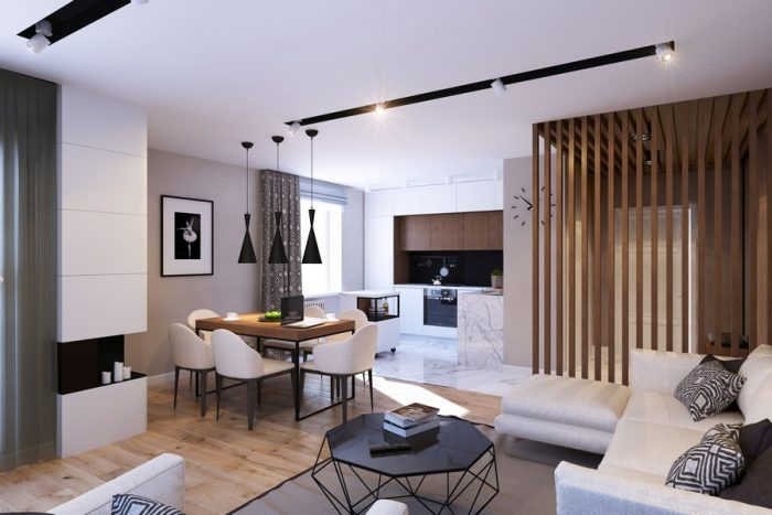 hoàn thiện nội thất căn hộ 2 phòng ngủ