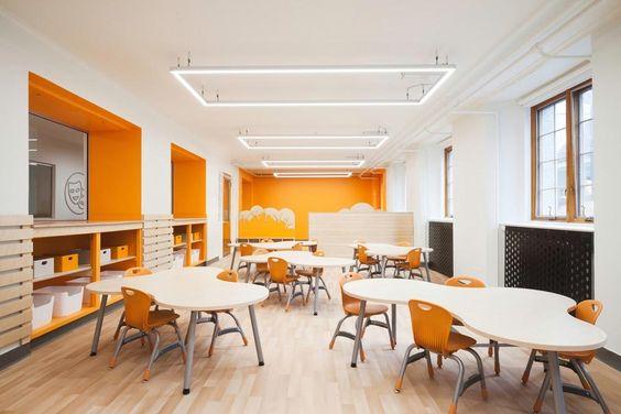 thiết kế phòng dạy học tại nhà