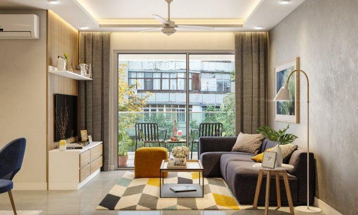 nguyên tắc bố trí nội thất chung cư nhỏ