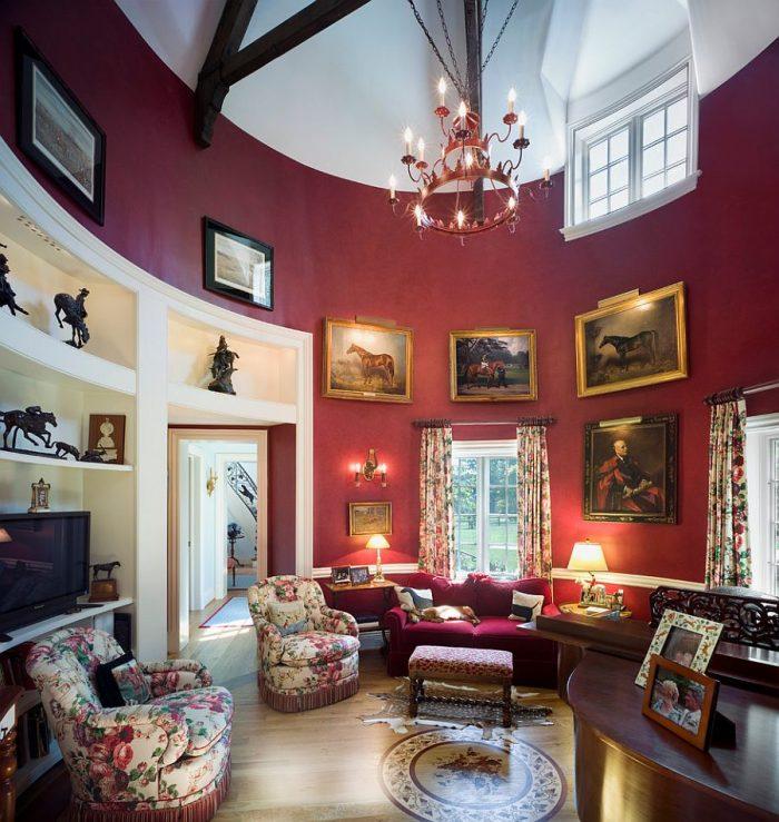 thiết kế nội thất nhà phố cổ điển đẹp