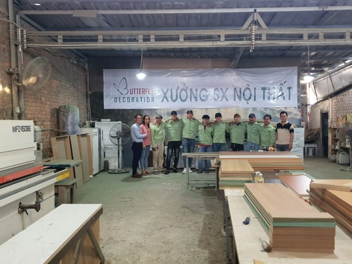 xưởng gia công nội thất gỗ