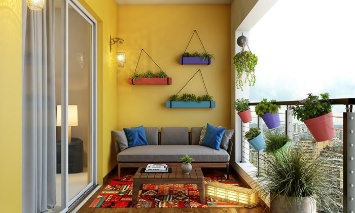 ý tưởng thiết kế ban công chung cư đẹp