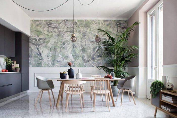 phong cách nội thất tropical