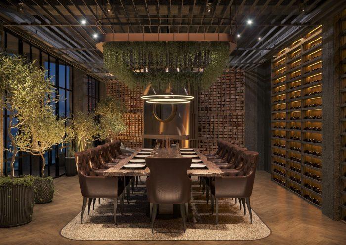 thiết kế phòng vip nhà hàng