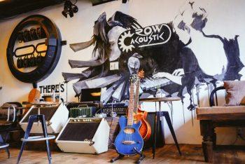 Thiết kế quán cafe acoustic -Mô hình và tiêu chuẩn thiết kế