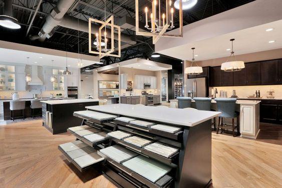 thiết kế showroom gạch ốp lát