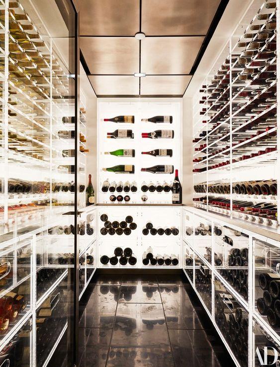 thiết kế showroom rượu