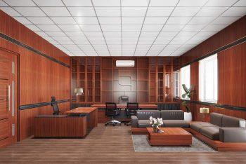 23 ý tưởng thiết kế phòng giám đốc đẹp và khoa học nhất 2021