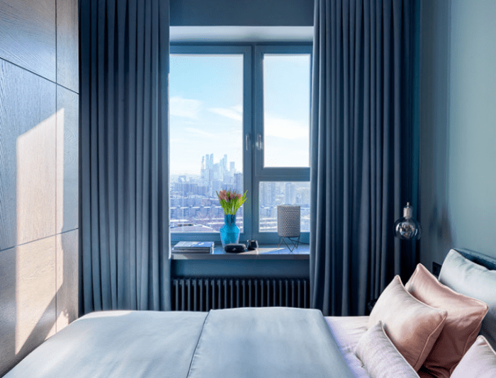 thiết kế căn hộ 38m2 1 phòng ngủ