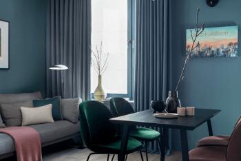 Ý tưởng thiết kế căn hộ 38m2 1 phòng ngủ đẹp và trang nhã