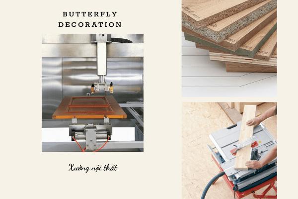 xưởng sản xuất nội thất gỗ công nghiệp